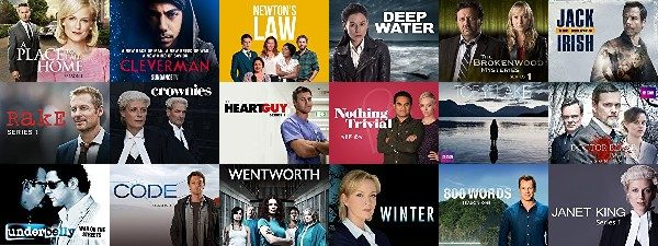 Where to Watch AU NZ TV collage